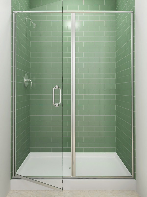 Well-liked Semi-Frameless | EASCO Shower Doors VR13